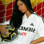 Voetbal-meisje